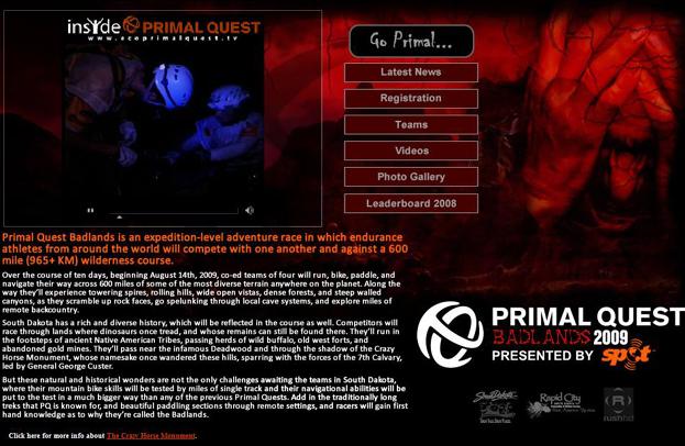 Primal Quest grab