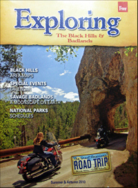 "The ""Exploring the Black Hills & Badlands"" visitor guide is available free of charge at many local hotels, restaurants and convenience stores."