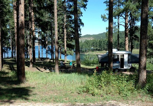 Features black hills national forest for Pactola lake cabins