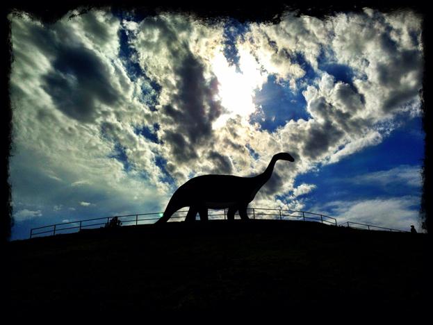Up To The Top At Dinosaur Park Black Hills Travel Blog