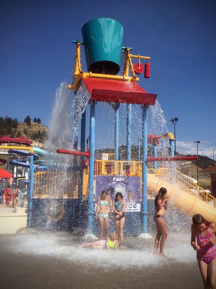 Summertime fun at Spearfish Rec & Aquatics Center.