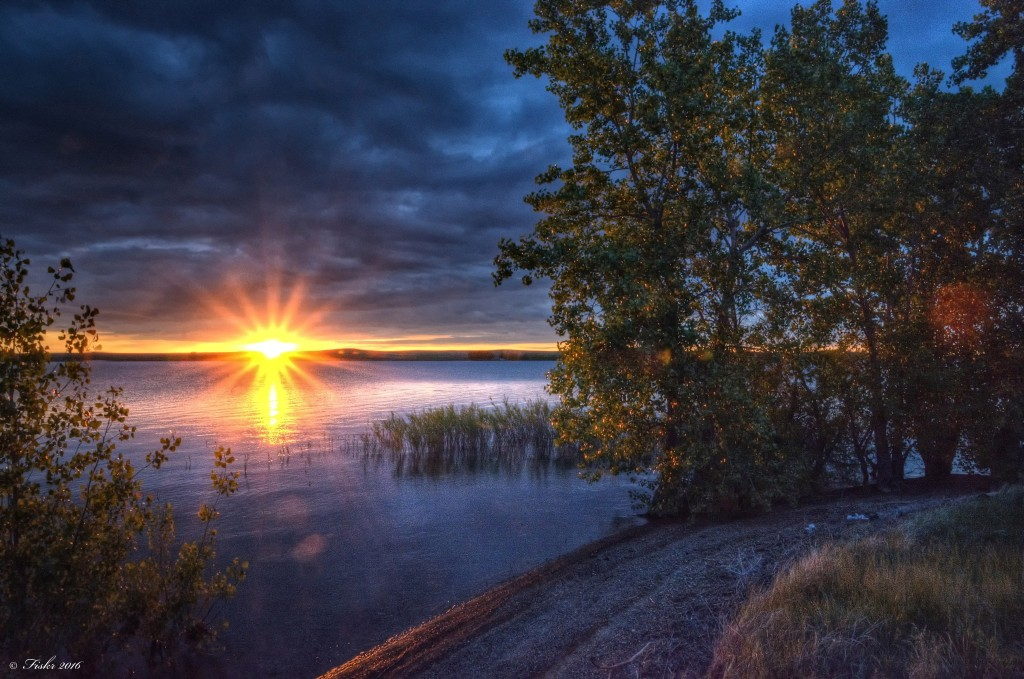 Belle Fourche Reservoir, photo by Jon Larsen.