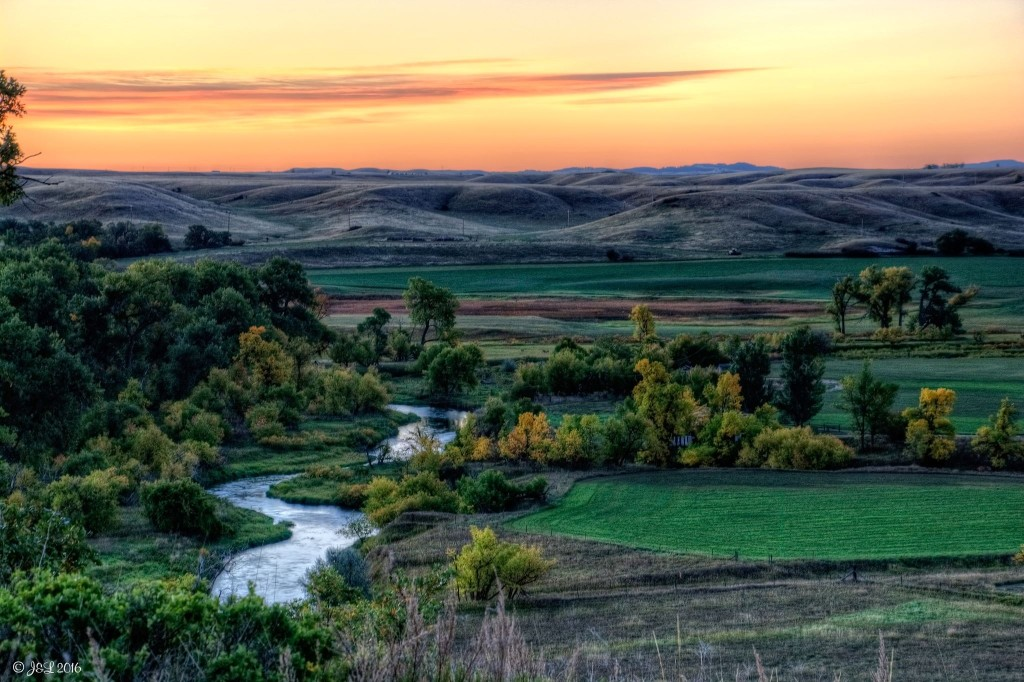 Redwater River, just south of Belle Fourche. Photo by Jon Larsen.