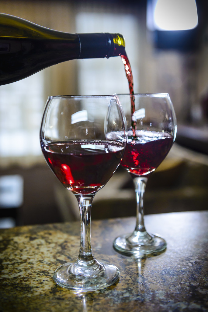 Wine at the Belle Joli Tasting Room is sure to please all.