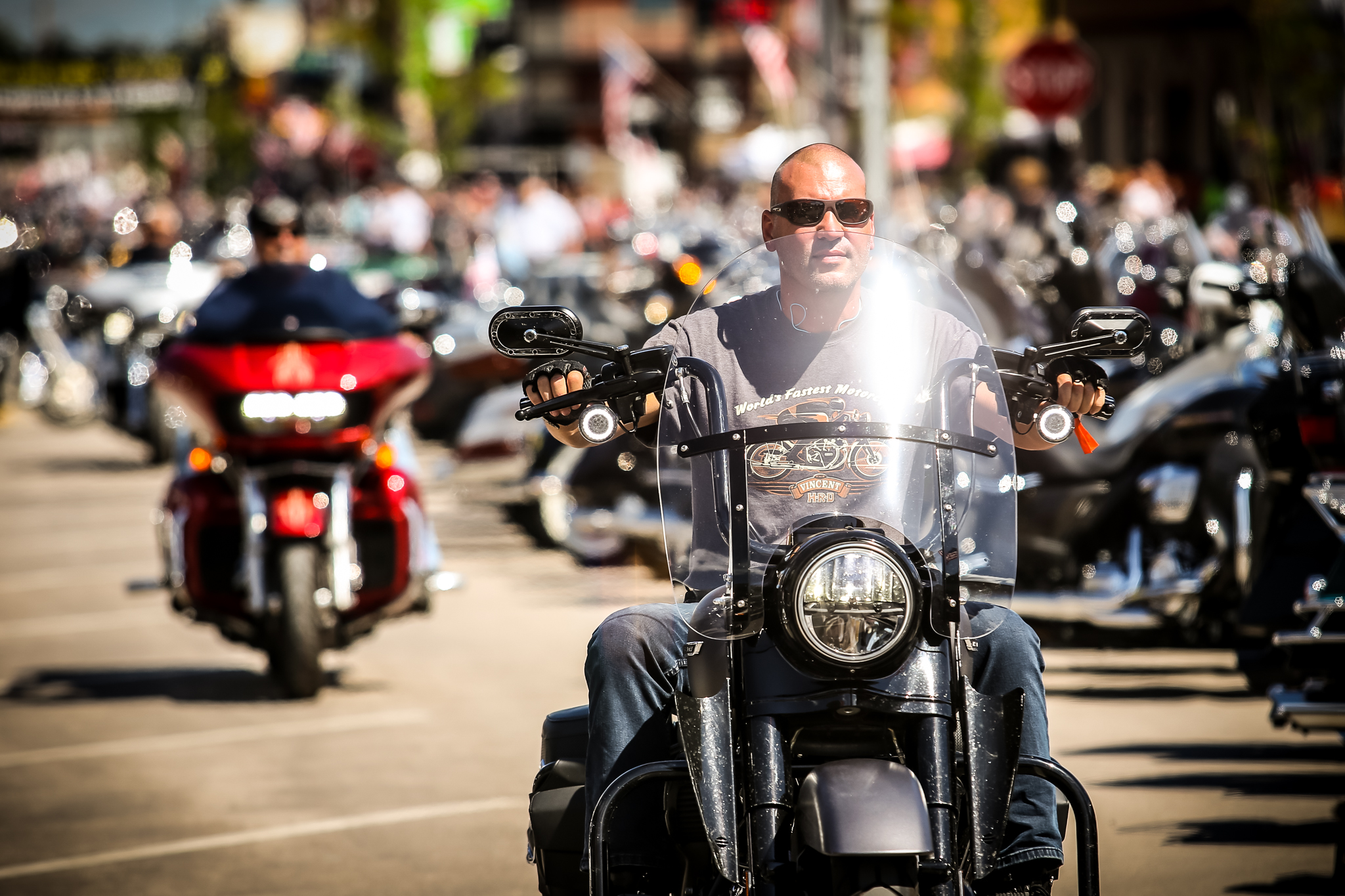 Day 1 Of The 79th Sturgis Motorcycle Rally Black Hills
