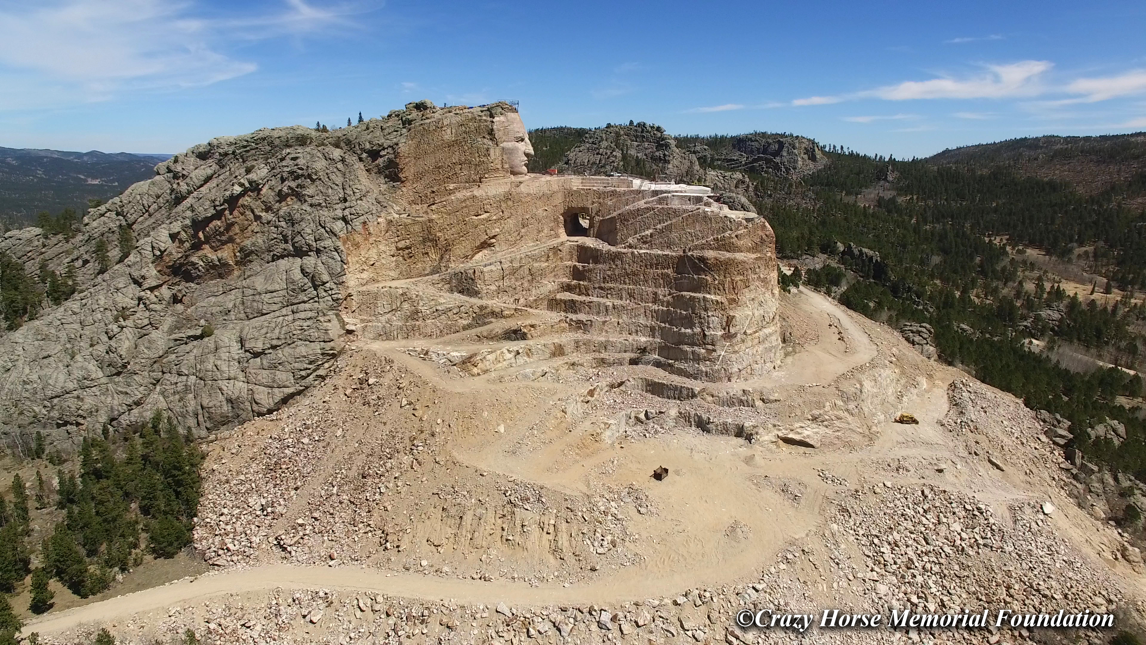 Building A Legacy For Native Americans The Story Of Crazy Horse Black Hills Travel Blog
