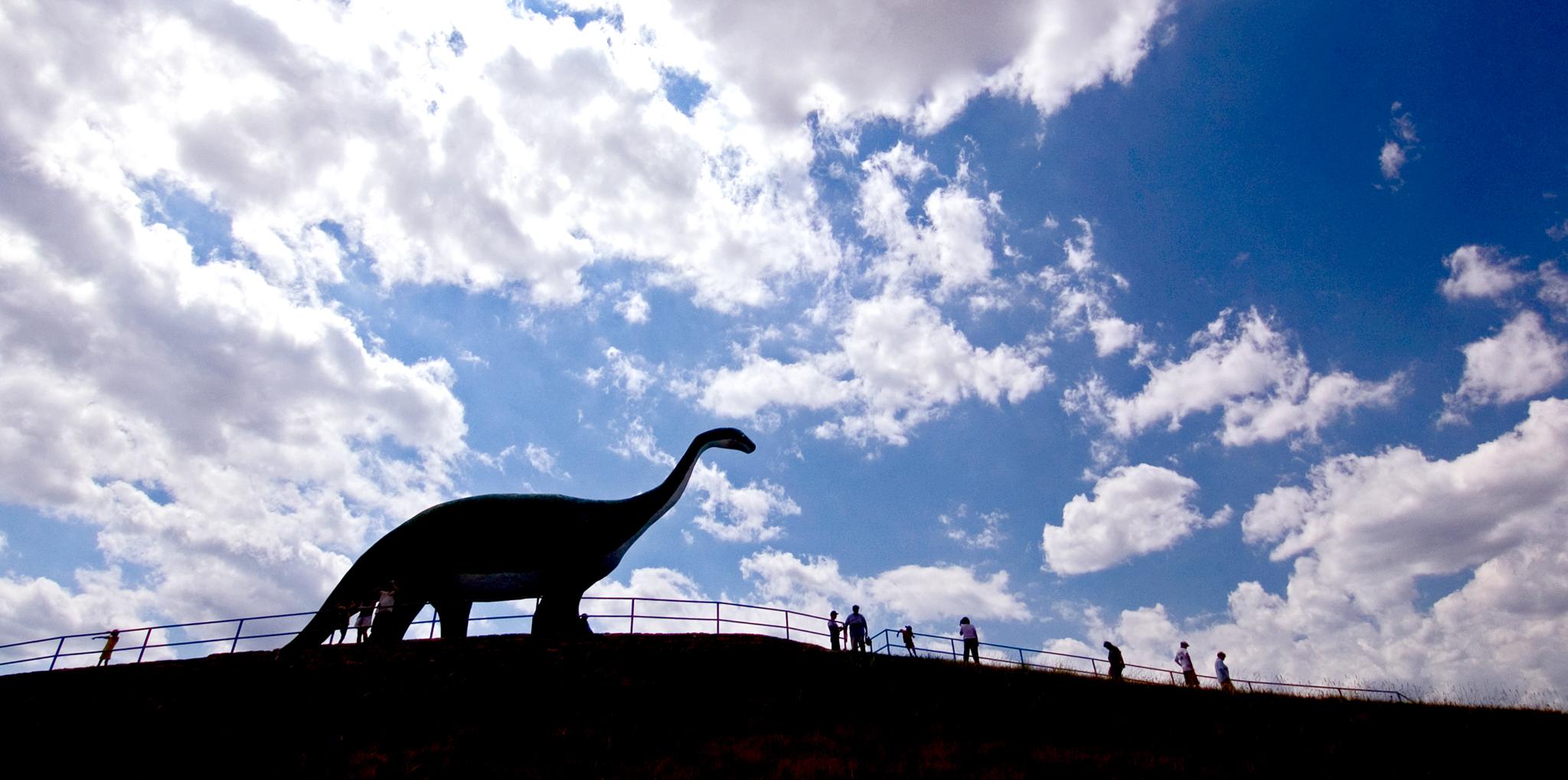 Dinosaur Park Black Hills Badlands South Dakota