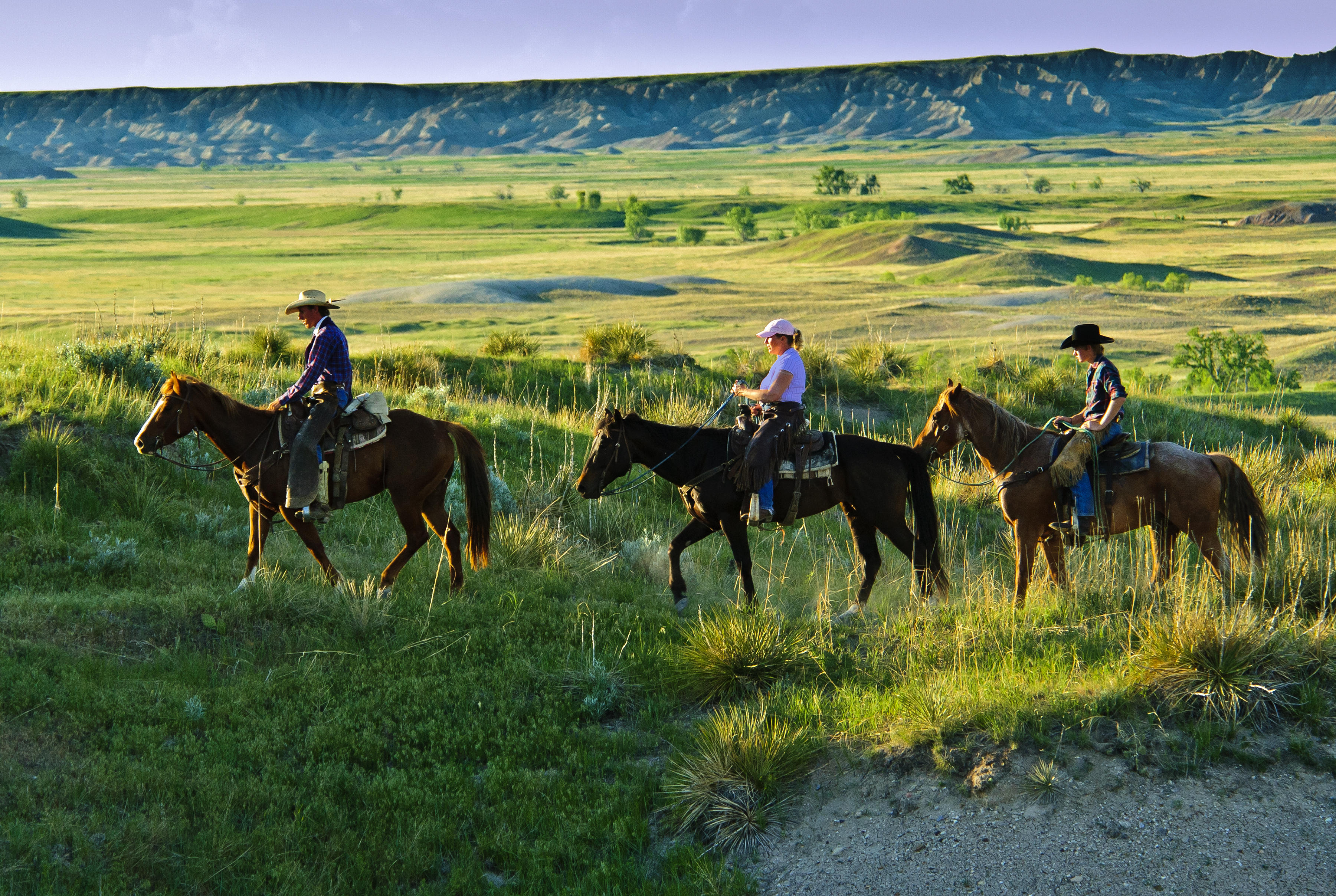 Hurley Butte Horseback Black Hills Amp Badlands South Dakota