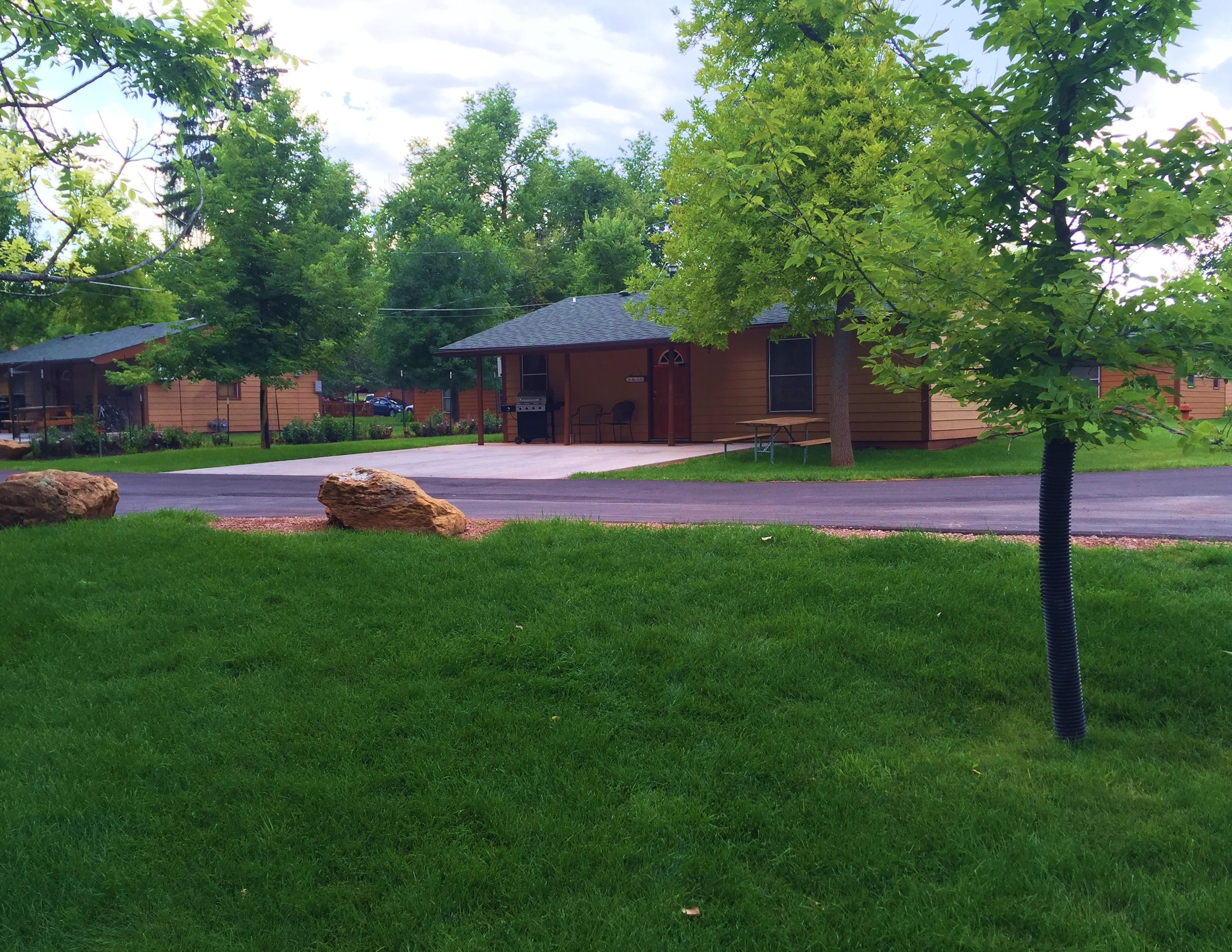 Lake Park Campground Amp Cottages Black Hills Amp Badlands