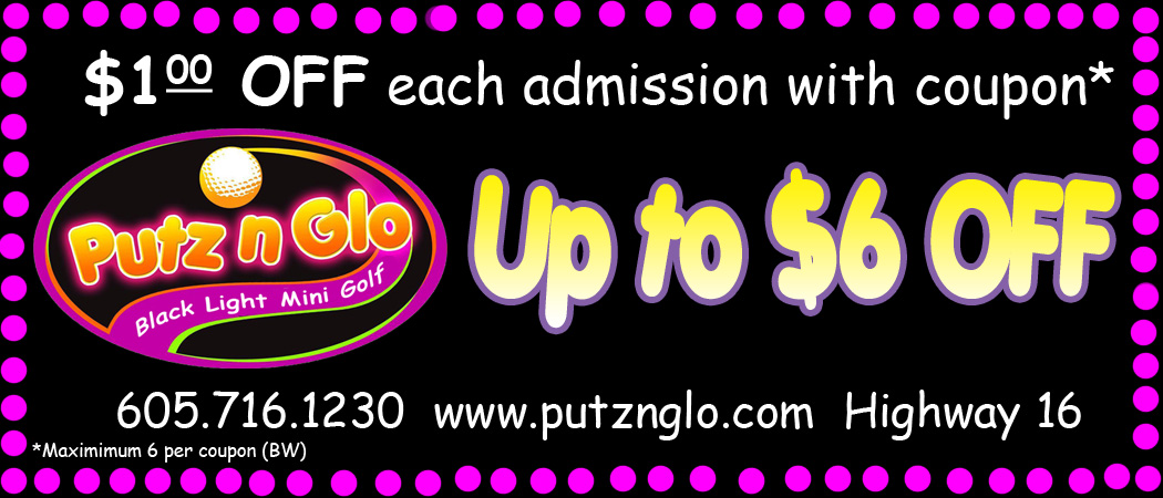 Putz n Glo Black Light Miniature Golf