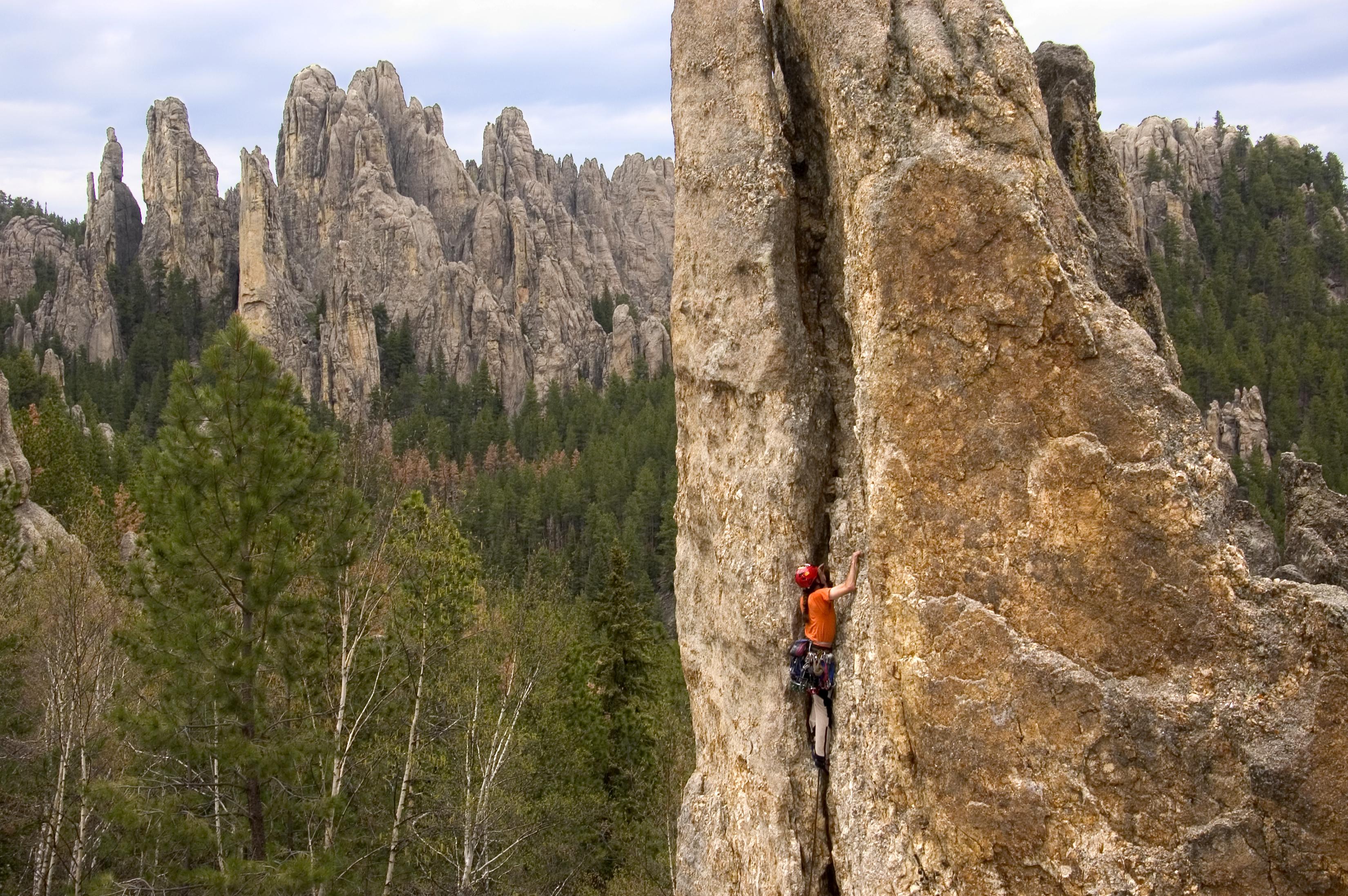 Sylvan Rocks Climbing Amp Guide Service Black Hills