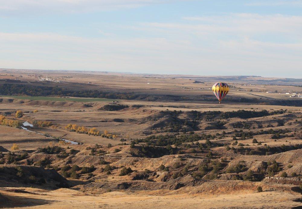 Western Horizons Hot Air Balloons Black Hills Amp Badlands