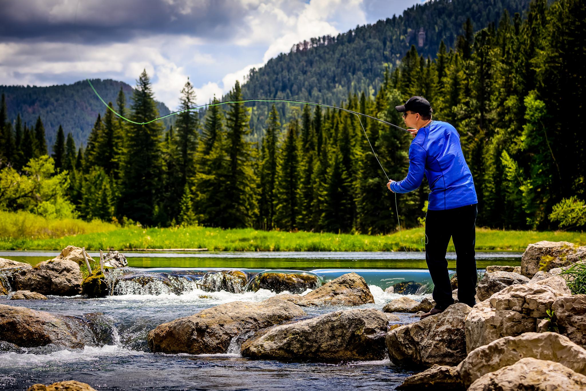 Fishing & Ice Fishing   Black Hills & Badlands - South Dakota