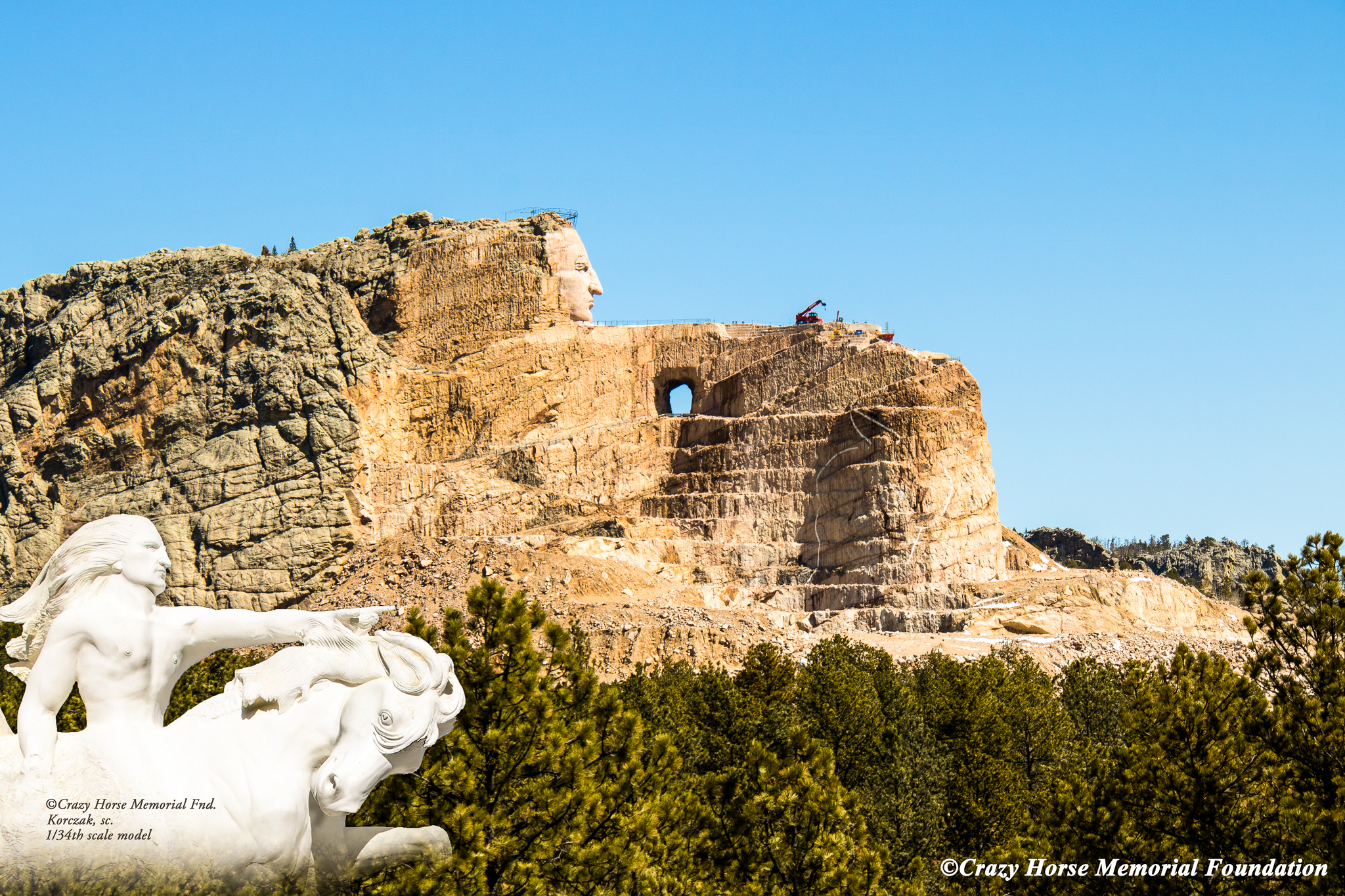 Crazy Horse Memorial® | Black Hills & Badlands - South Dakota on
