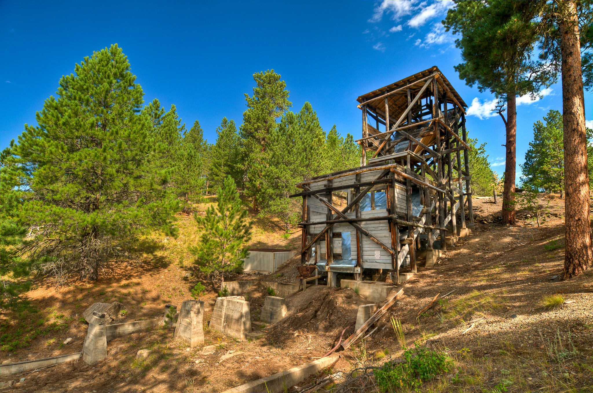 Gold Mountain Mine Black Hills Amp Badlands South Dakota