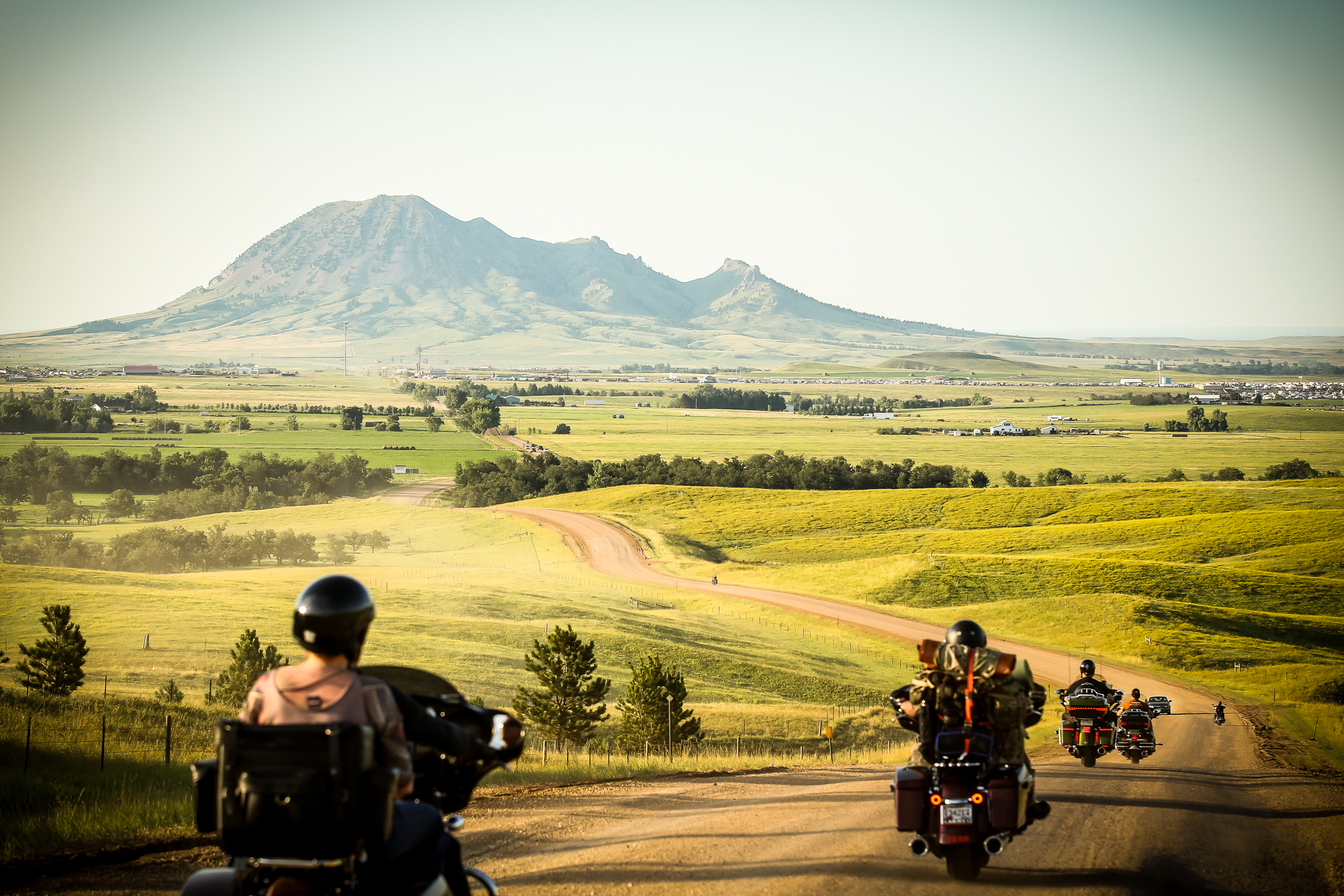 Ride to the Buffalo Chip—Sturgis Motorcycle Rally