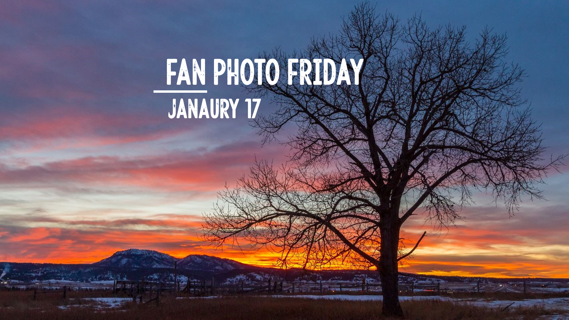 Fan Photo Friday | Jan. 17, 2020