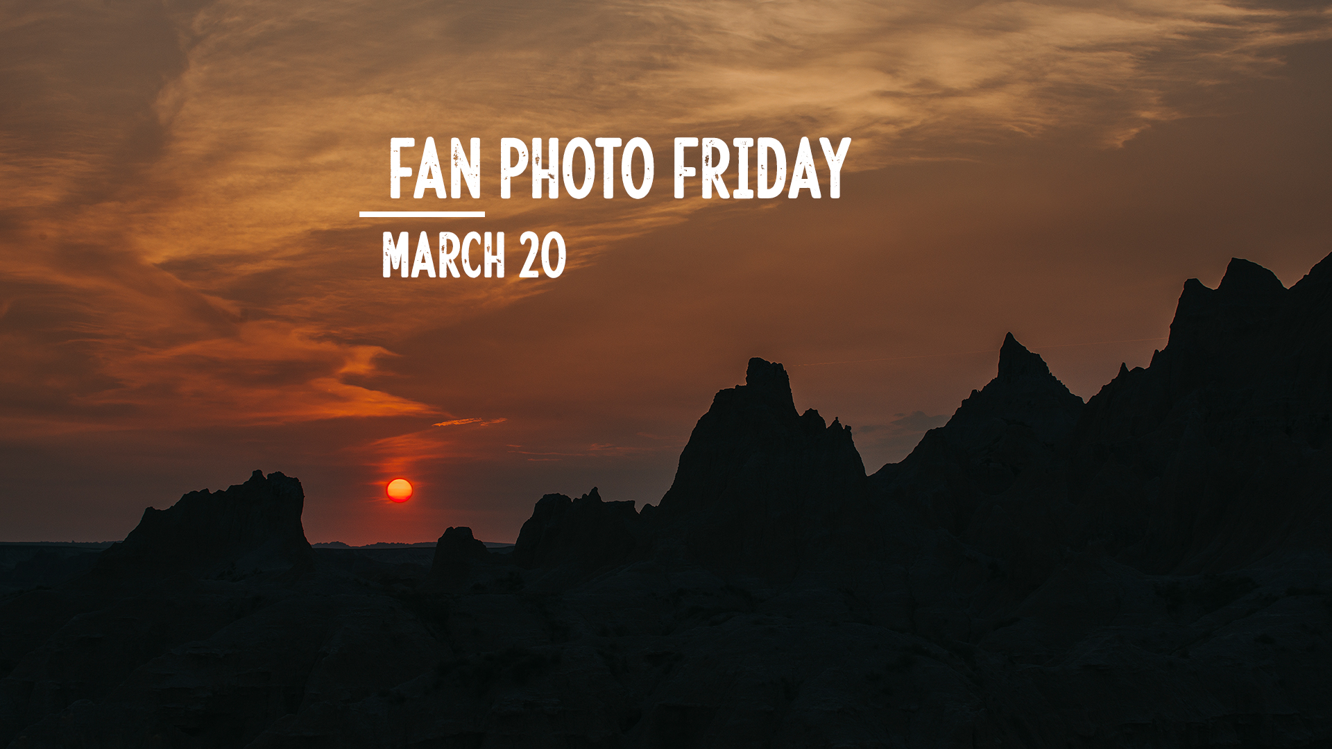 Fan Photo Friday | March 20, 2020