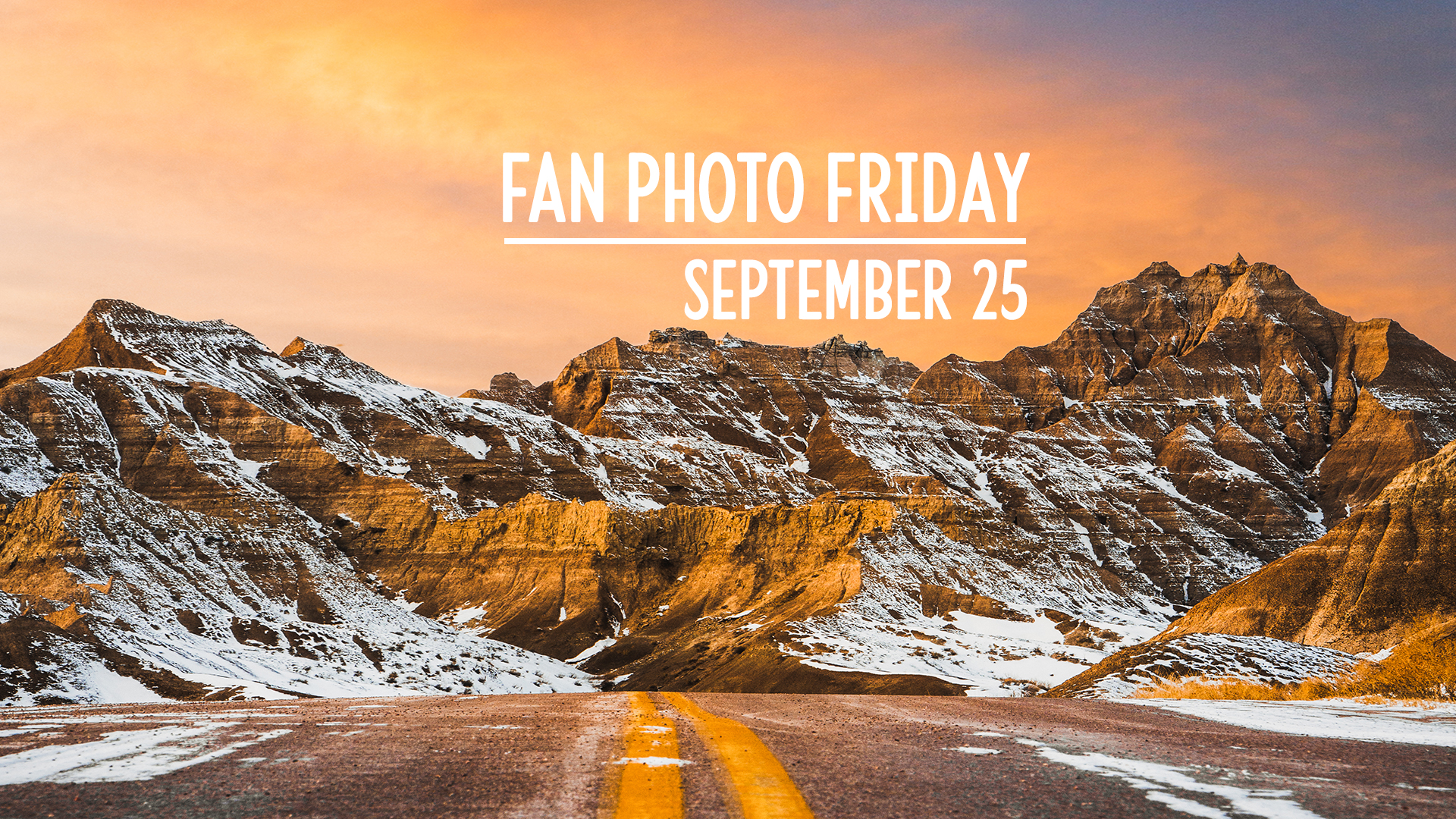 Fan Photo Friday | September 25, 2020