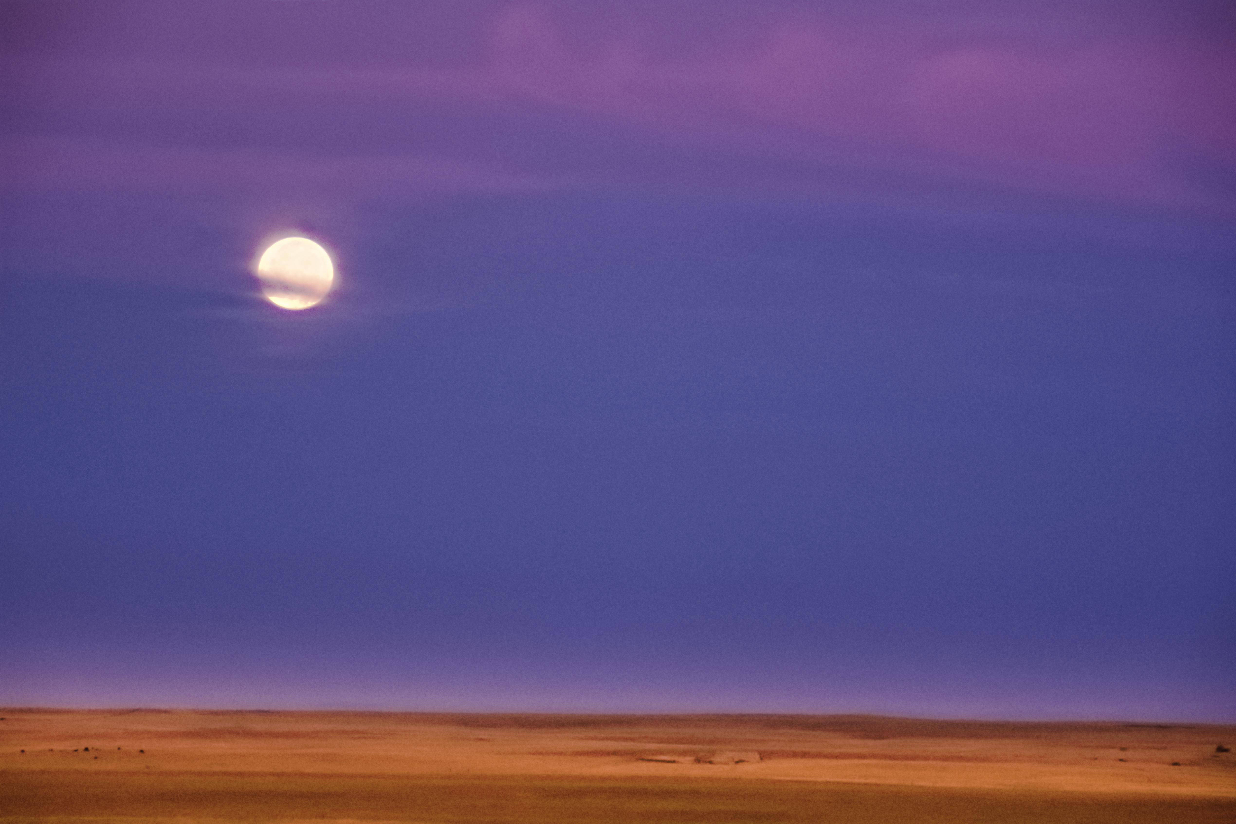 Badlands Moon Arising