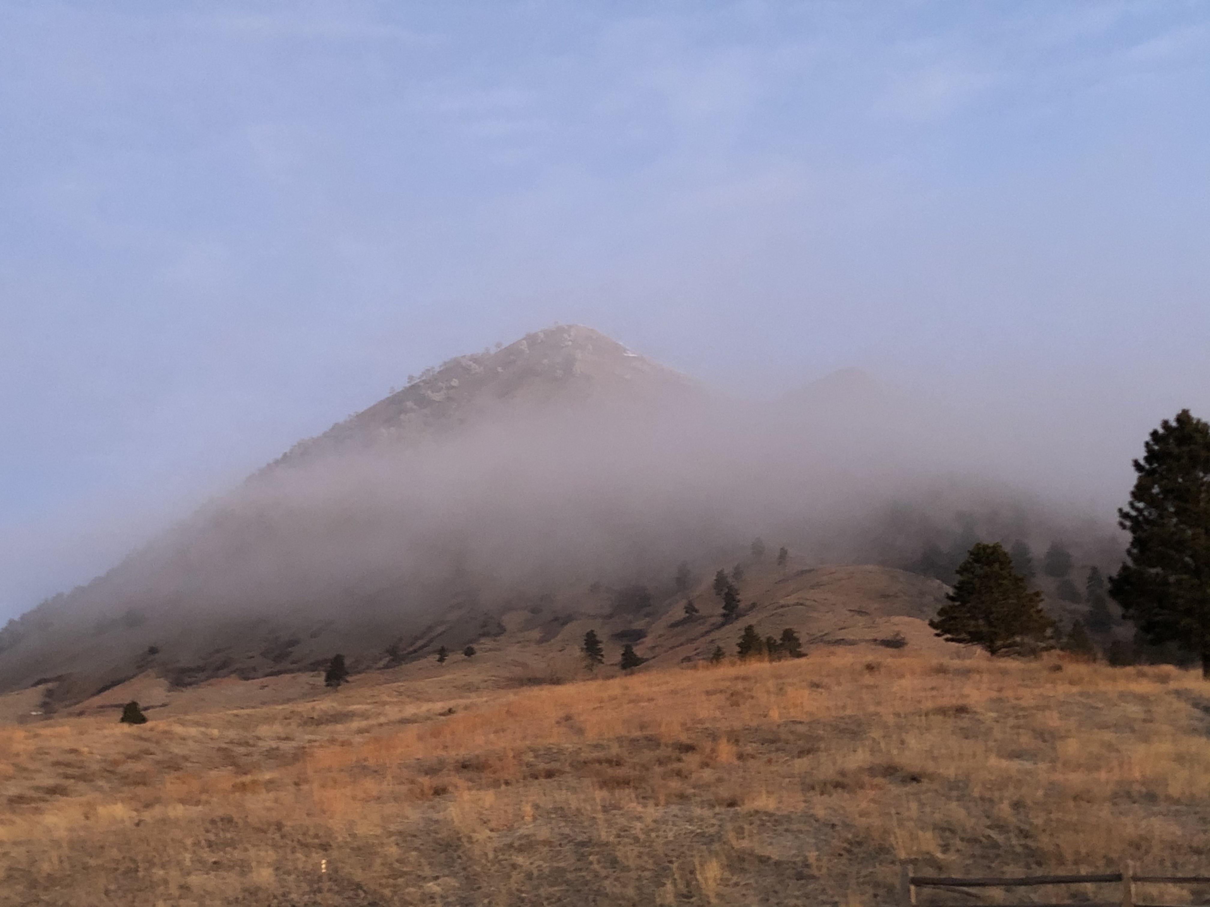 Bear Butte Cloud Cover