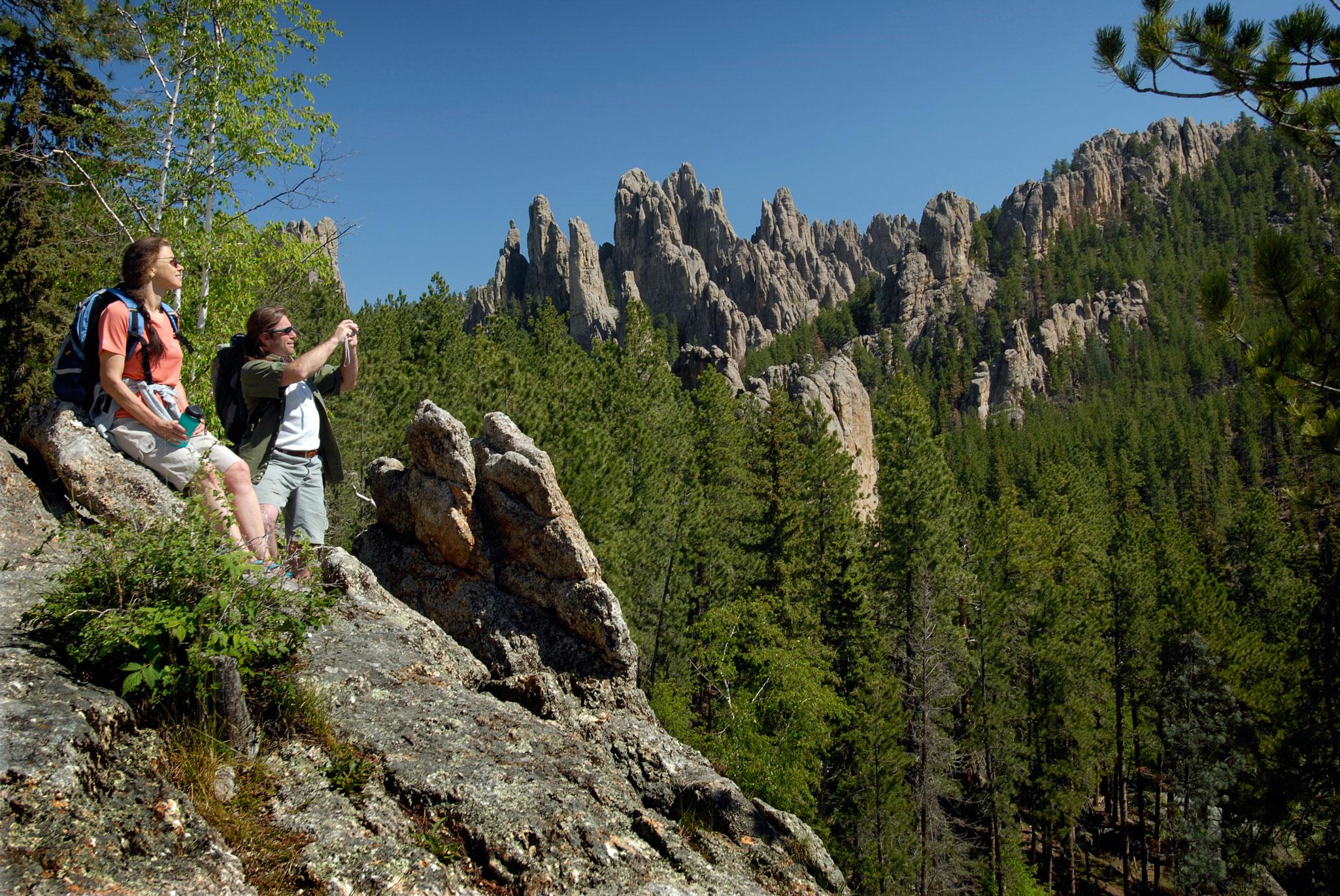 Granite City Coupons >> BHNF Trail #4: Cathedral Spires   Black Hills & Badlands ...