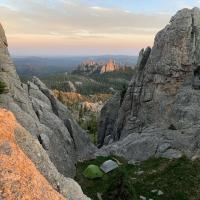 Cathedral Spires from Black Elk Peak