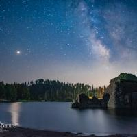 Sylvan Lake on a Starry Night
