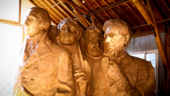 The Sculptor's Studio at Mount Rushmore National Memorial