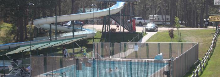 Beaver Lake Water Slide