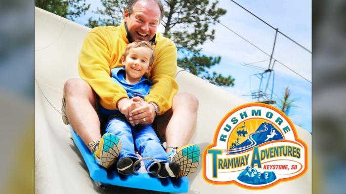 Alpine Slide at Rushmore Tramway Adventures*