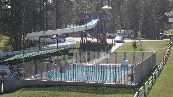 Beaver Lake Water Slide