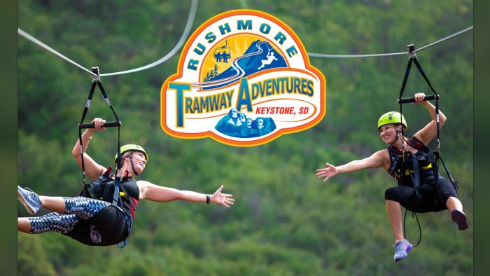 Pinnacle Zipline Tour Rushmore Tramway Adventures