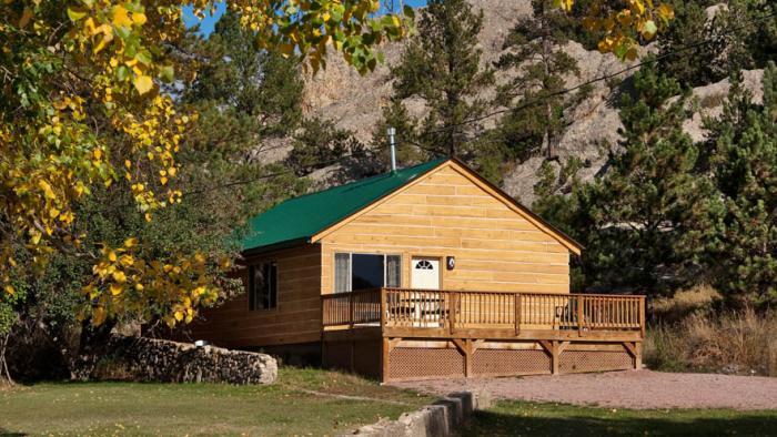 Rock Crest Lodge Cabins Black Hills Badlands South