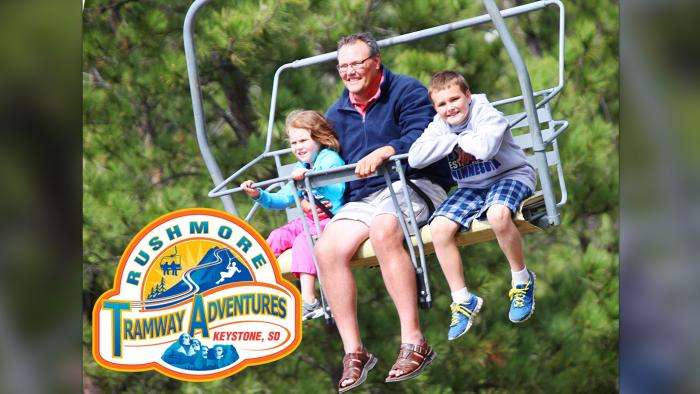 Scenic Chairlift at Rushmore Tramway Adventures*