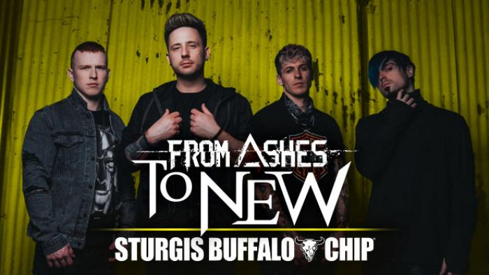 From Ashes to New at the Sturgis Buffalo Chip