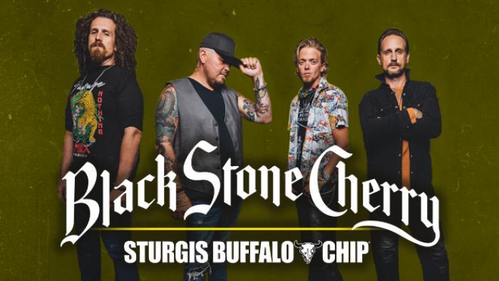 Black Stone Cherry at the Sturgis Buffalo Chip