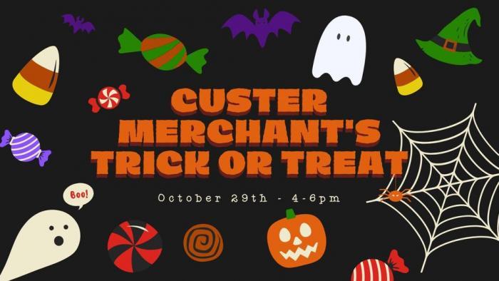Custer Merchant's Trick or Treat