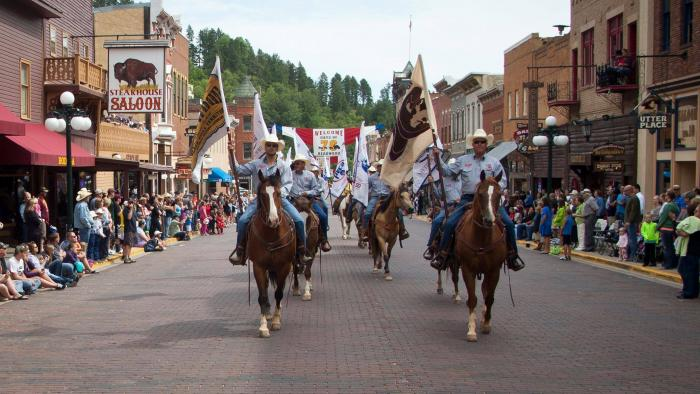 Deadwood Independence Day Parade