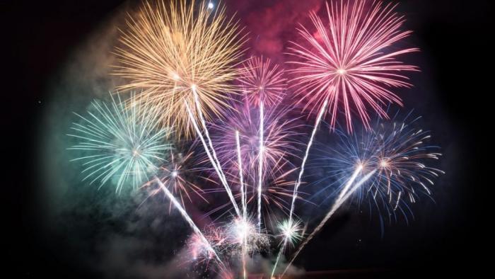 Fireworks at Post 22 Firecracker Tournament