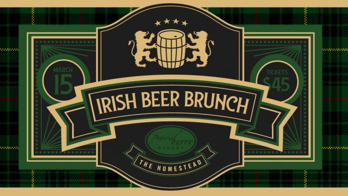 Irish Beer Brunch