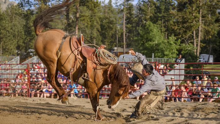 Mount Rushmore Rodeo at Palmer Gulch