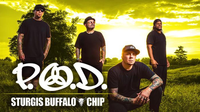 P.O.D. at Sturgis Buffalo Chip