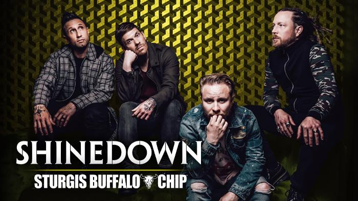 Shinedown at the Sturgis Buffalo Chip