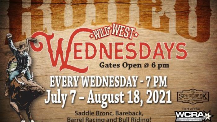 Wild West Wednesdays Rodeos at Hart Ranch
