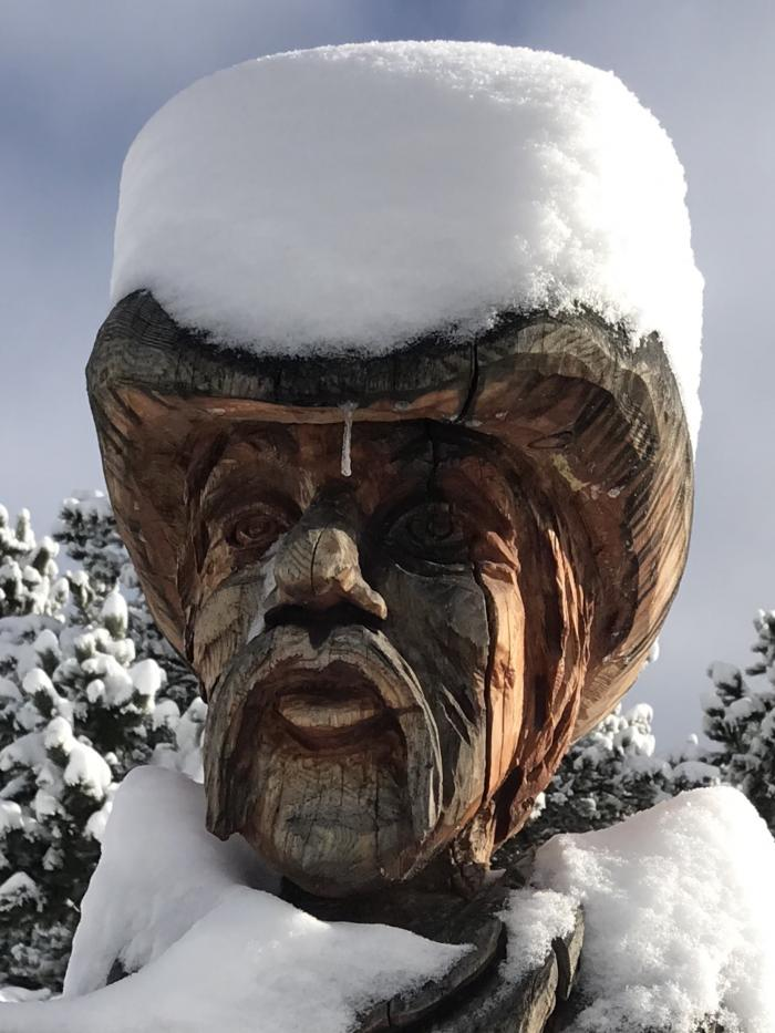 Snowy Top Hat