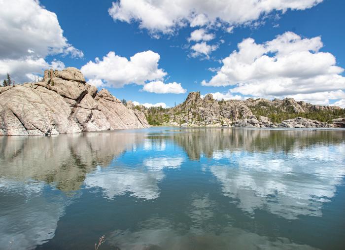 Sylvan Lake Reflection