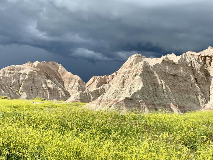 Storm Over the Badlands