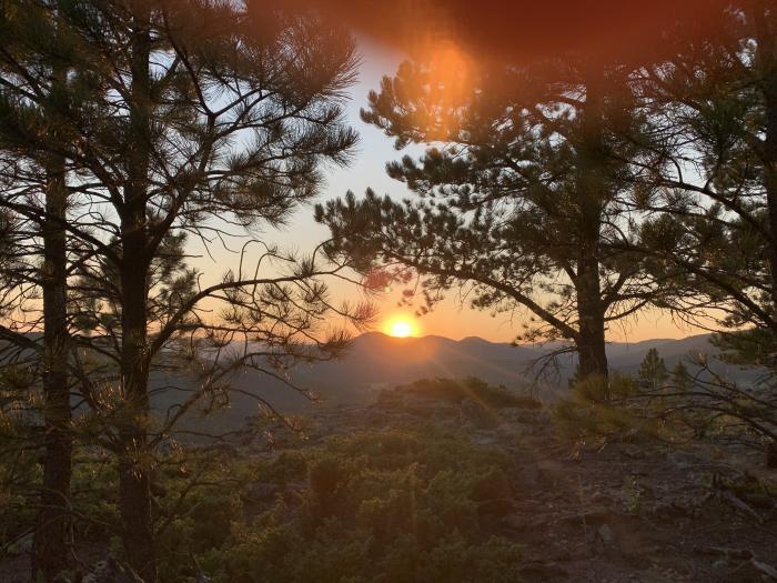 Sunset Over Johnson Siding