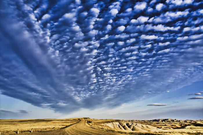 Oh Beautiful Spacious Sky - Badlands NP
